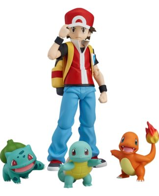 TRAINER RED – FIGMA DX ver. – Pokémon Center Online Limited Edition