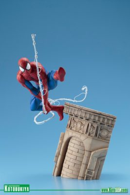 SPIDER-MAN WEB SPRINGER – ARTFX