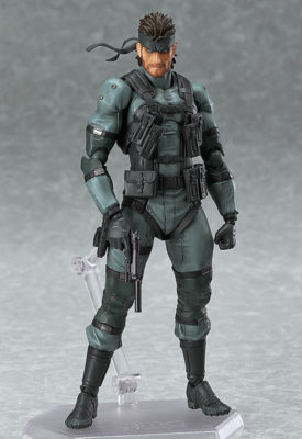SOLID SNAKE: MGS2 VER. – FIGMA