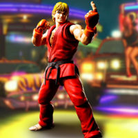 KEN MASTERS – STREET FIGHTER – S.H.FIGUARTS