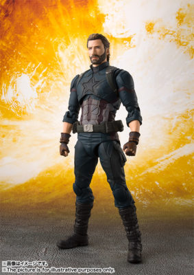Captain America (Avengers: Infinity War) – S.H.Figuarts (50% DO VALOR)