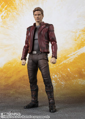 Star-Lord (Avengers: Infinity War) – S.H.Figuarts (50% DO VALOR)