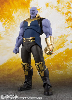 Thanos (Avengers: Infinity War) – S.H.Figuarts (50% DO VALOR)
