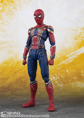 Iron Spider (Avengers: Infinity War) – S.H.Figuarts (50% DO VALOR)