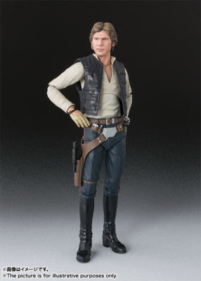 Han Solo – Reissue – Star Wars: Episode IV A New Hope – S.H.Figuarts
