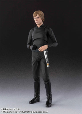 Luke Skywalker (Reissue 2) – Star Wars: Episode VI – Return of the Jedi – S.H.Figuarts