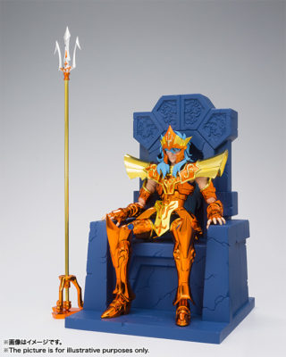 POSEIDON JULIAN SOLO – MYTH CLOTH EX SET