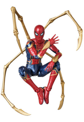 Iron Spider – MAFEX (RESERVA 50% DO VALOR)