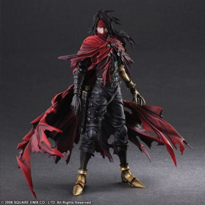 Vincent Valentine – Dirge of Cerberus Final Fantasy VII – Play Arts Kai