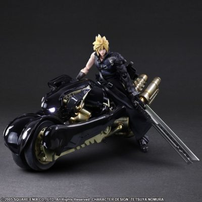 Cloud Strife & Fenrir – Final Fantasy VII ADVENT CHILDREN – Play Arts Kai