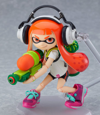 Splatoon Girl – Figma – (RESERVA DE 25%)