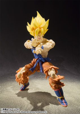 Super Saiyan Gokou super warrior awakening Ver. – S.H.Figuarts