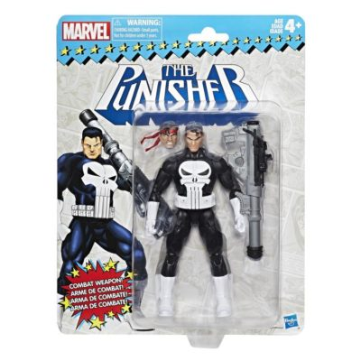 Vintage Retro The Punisher – Marvel Legends
