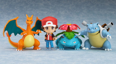 Trainer Red: Champion Ver – Nendoroid Pokémon