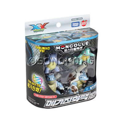 Pack Blastoise Boneco Squirtle + Pokemon Forest Complete Set of 8 Shokugan/Gum