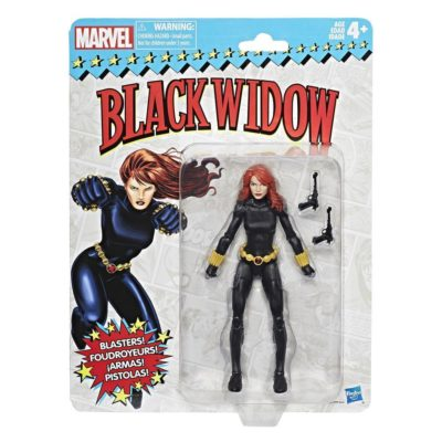 Vintage Retro Black Widow Marvel Legends