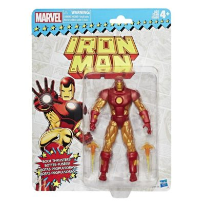 Vintage Retro Iron Man Marvel Legends