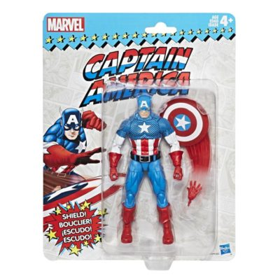 Vintage Retro Captain America Marvel Legends