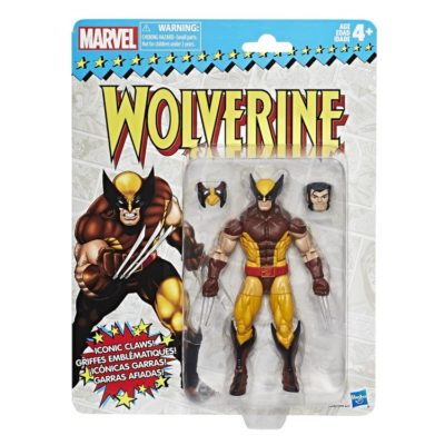 Vintage Retro Wolverine Marvel Legends