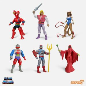 Masters of the Universe Club Grayskull Wave 4 – Set of Six