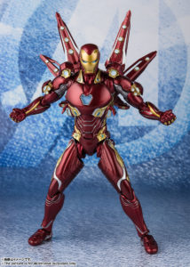 Iron Man Mark 50 Nano-Weapon Set 2 – Avengers: Endgame – S.H.Figuarts