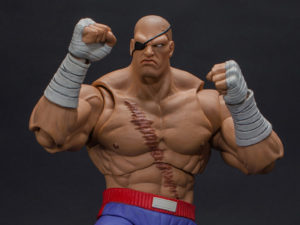 Street Fighter II Sagat 1/12