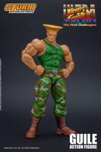Street Fighter II Guile 1/12