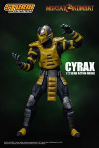 Cyrax 1/12 Mortal Kombat VS Series