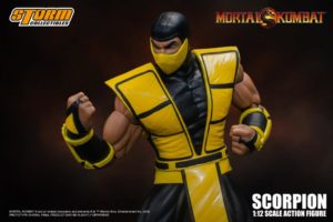 Scorpion 1/12 Scale Figure Mortal Kombat 3 VS Series