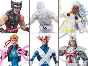 The Uncanny X-Men Mavel Legends Retro Collection Wave 3 Set of 6 Figures (LOOSE)