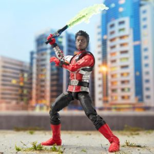 Red Ranger – Power Rangers Beast Morphers Lightning Collection