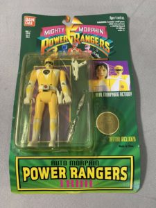 Ranger Mighty Morphin Power Rangers Trini Sealed