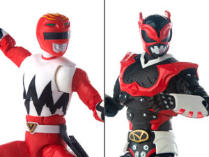 Red Ranger & Psycho Red Ranger – Power Rangers Lightning Collection – Two-Pack