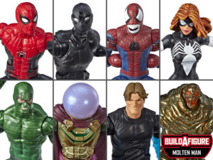Spider-Man Marvel Legends Wave 10 Set of 7 Figures