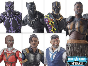 Black Panther Wave 2 (M'Baku BAF) – Marvel Legends