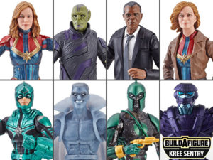Captain Marvel Wave 1 (Kree Sentry BAF) – Marvel Legends