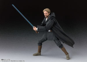 Luke Skywalker Battle of Crait Ver – Star Wars – S.H.Figuarts