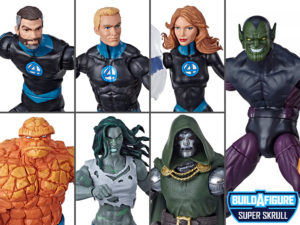 Fantastic Four Marvel Legends Wave