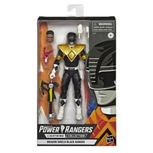 Black Dragon Shield – Power Rangers: Mighty Morphin – Lightning Collection Exclusive