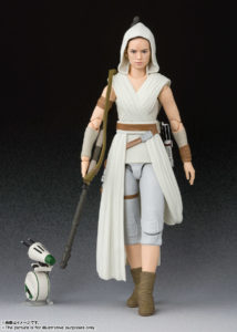 Rey & D-O – Star Wars: The Rise of Skywalker – S.H.Figuarts