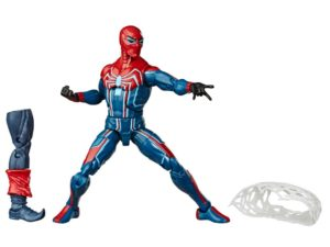 Velocity Suit Spider-Man figure – Marvel Game Verse- Marvel legends (Demogoblin BAF)