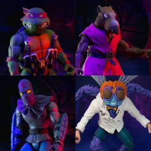 TMNT Ultimates Wave 1 Set