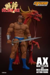 Ax Battler & Red Dragon – Golden Axe – 1/12