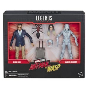 Luis & Ghost – Ant-Man And The Wasp – Marvel legends