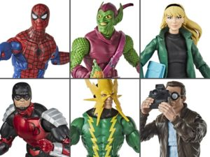 Spider-Man Wave 1 Set of 6  – Marvel Legends Retro Collection