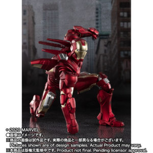 Iron Man Mark 7 – Avengers – S.H.Figuarts